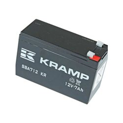 Akumulator, 12 V, 7 Ah, zamknięty  Wolf: 6150-075
