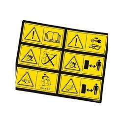 Folia ostrzegawcza Stiga 114357428/1, 14357190/0
