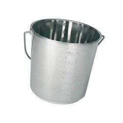 Wiadro ze stali szlachetnej, 8,5 litra
