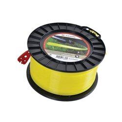 Żyłka nylonowa okrągła żółta , 1.6 mm 100 m