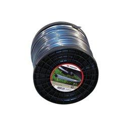 Żyłka nylonowa 4-kątna szara Titanium Power , 4 mm 72 m