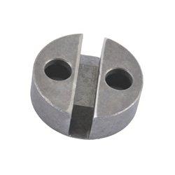 Uchwyt, okrągły, z otworem, 16,5 mm