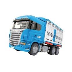 Ciężarówka Scania z przyczepą do przewożenia bydła Bruder  U03549