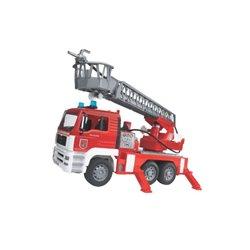 Wóz strażacki MAN z drabiną i sygnałem Bruder  U02771