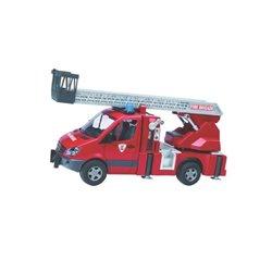 Wóz strażacki z drabiną i sygnałem Bruder  U02532