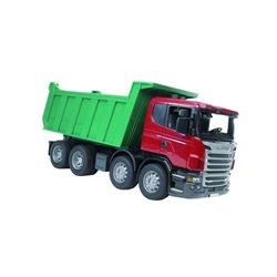 Ciężarówka Scania wywrotka Bruder  U03550
