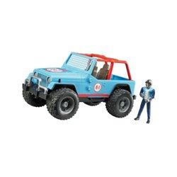 Jeep Cross-country niebieski Bruder  U02541