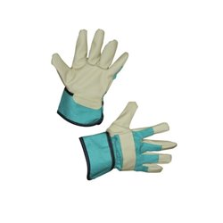 Rękawice Junior, zielone, roz. 6-8 Keron  HS29785