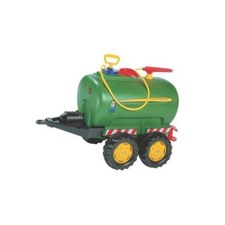 Beczkowóz dwuosiowy zielony z polewaczką Rolly Toys  R12275