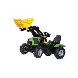 DEUTZ-FAHR z ład.czoł. i ogum. Rolly Toys  R61121