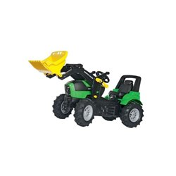 DEUTZ Agroton z ładowarką czołową i ogumieniem pneumatycznym Rolly Toys  R71013