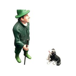 Jack z psem rasy border collie AT-Collections  ADF32116