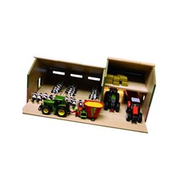 Wiata dla bydła ze stodołą Farming Kids Kids Globe  610409