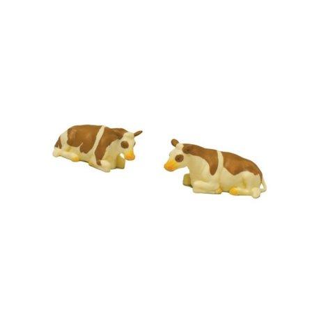 2 łaciate krowy, leżące Kids Globe  571969