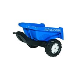 Przyczepa niebieska do ciągnika z napędem na pedały Rolly Toys  R12884