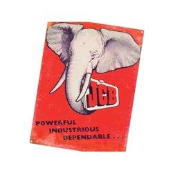 Plakat JCB Elephant Tractorfreak  TTF9191
