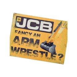 Plakat JCB Fancy an armwrestle Tractorfreak  TTF9195