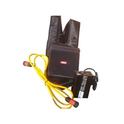 Akumulator w plecaku z ładowarką Lisam
