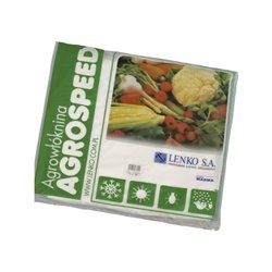 Agrowłóknina Agrospeed, biała, 17 g 1,6 x 5 m Lenko