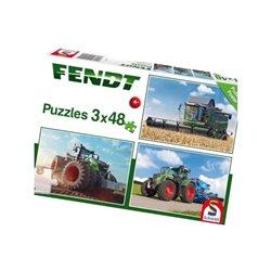 Puzzle Fendt 3x48 szt. Schmidt