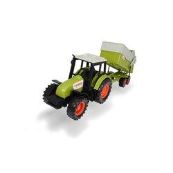 Traktor Claas z przyczepą 36cm Dickie