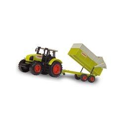 Traktor Claas z przyczepą 57cm Dickie