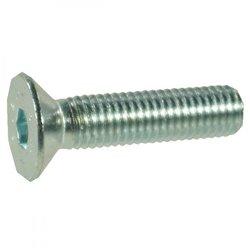 Śruba imbusowa stożkowa kl.10.9 ocynk , M8 x 16 mm