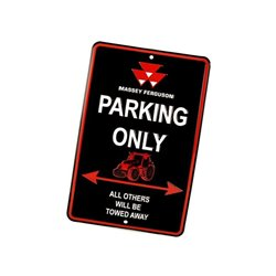 Massey Ferguson parking only Tractorfreak