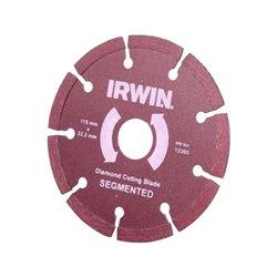 Tarcza diamentowa segmentowa , 115 x 22,2 Irwin