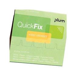 Zestaw uzupełniający plastrów wodoodpornych QuickFix 6x45 szt. Plum