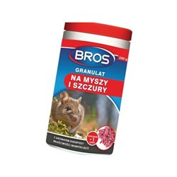 Granulat na myszy i szczury , 250 g Bros