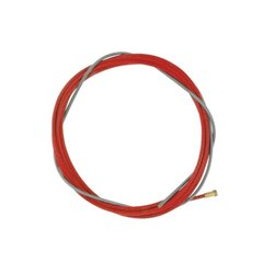 Akcesoria do palnika MIG/MAG , spirala drutu 3 m, czerwona 1,0 - 1,2 mm TBi