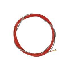 Akcesoria do palnika MIG/MAG , spirala drutu 4 m, czerwona 1,0 - 1,2 mm TBi