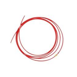Akcesoria do palnika MIG/MAG , teflonowy rdzeń liny czerwony 4,5 m 1,0 - 1,2 mm TBi